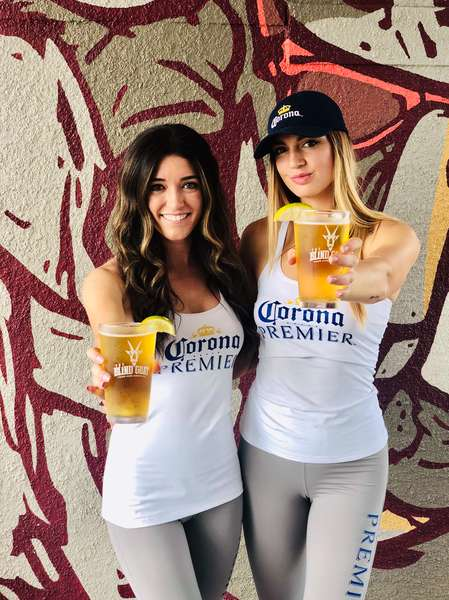 bartenders with beer