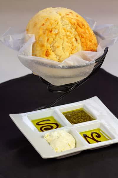 Three Cheese Asiago Bread