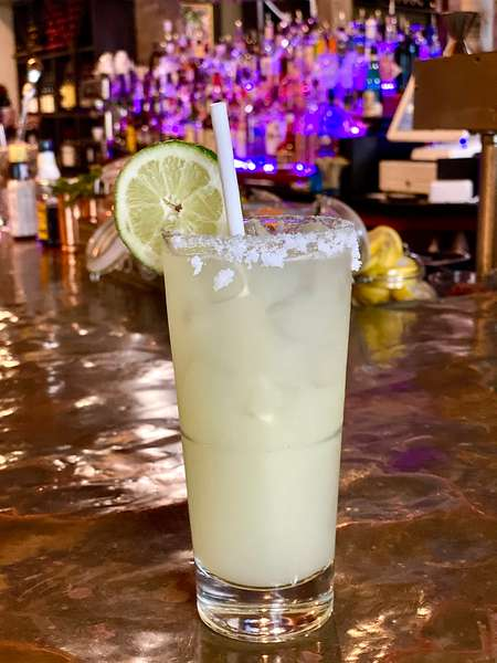 El Bonita Margarita - Tres Agaves Silver tequila, agave nectar and fresh squeezed lime juice