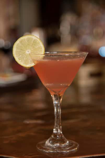 SoNapa Cosmo - Tito's Vodka, Grand Marnier, cranberry and fresh orange juice.