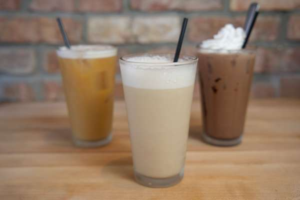 VANILLA ICED BLENDED COFFEE