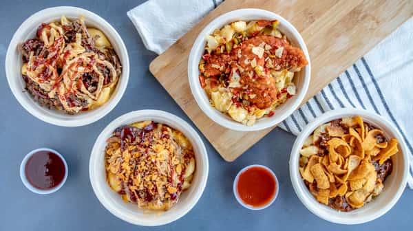 mac and cheese bowls