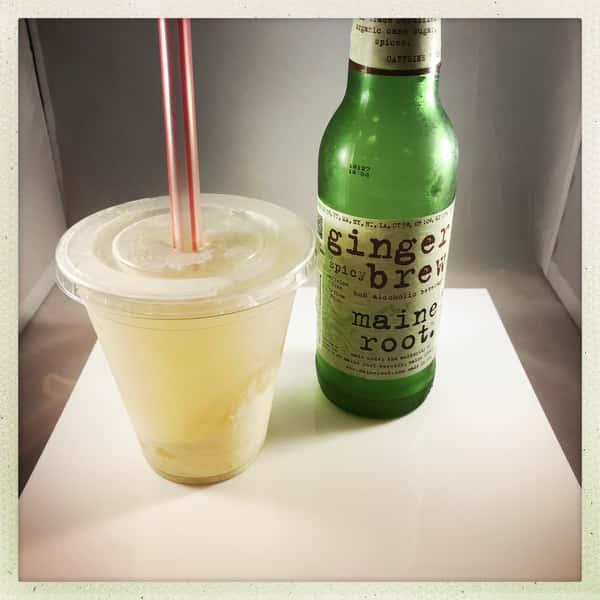 lemon ginger float