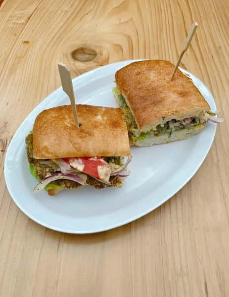 Yuca Veggie Sandwich