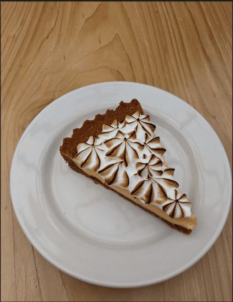 Passion Fruit Pie Slice