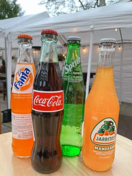 Glass Bottle Coke