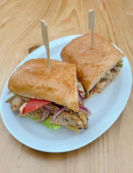 Wood Fired Rotisserie Chicken Sandwich
