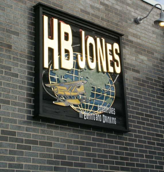 HB Jones sign
