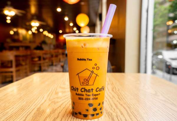 Thai Bubble Milk Tea 泰式珍珠奶茶