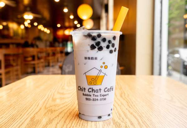 Taro Bubble Milk Tea 芋香珍珠奶茶