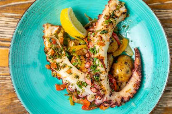 Spanish Grilled Octopus