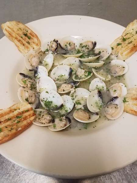 clam appetizer