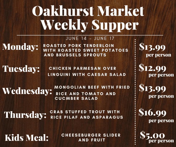 specials this week