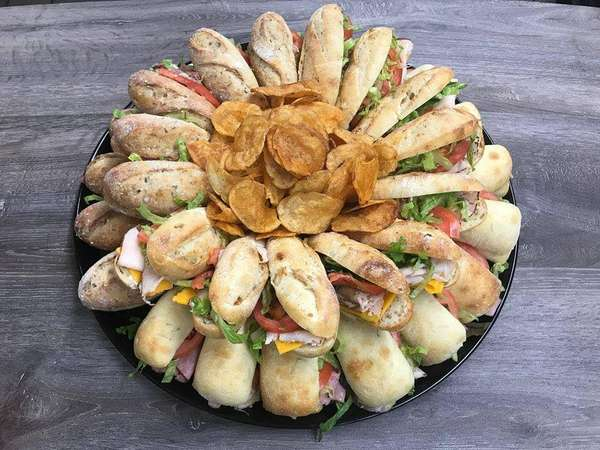 sandwiches tray