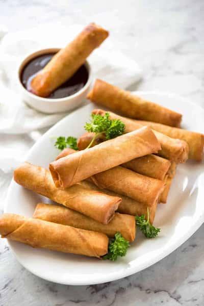 Vegan- Spring rolls