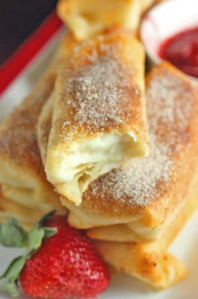 Cheese Cake Rolls