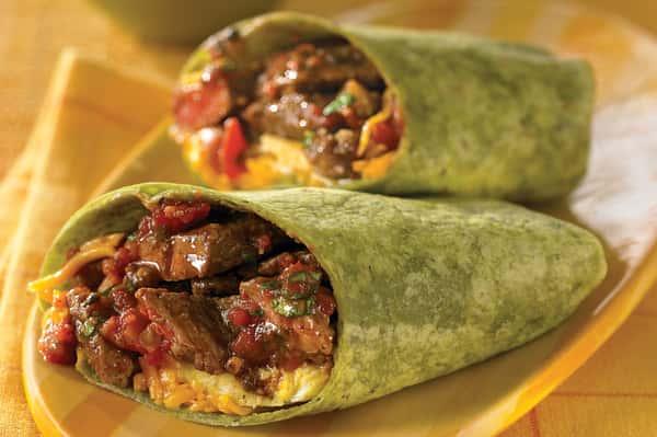 Steak & Egg Burrito