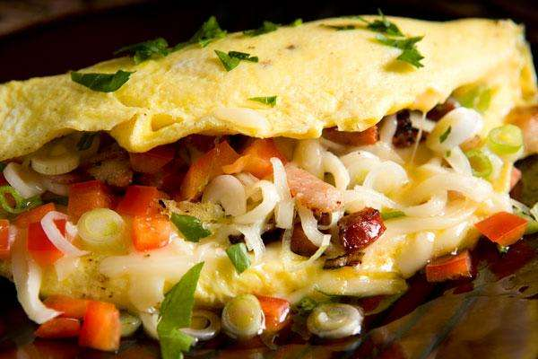 Huevos Ranchero Omelet