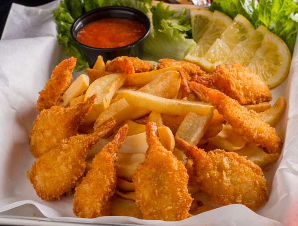 Fried Shrimp Plate
