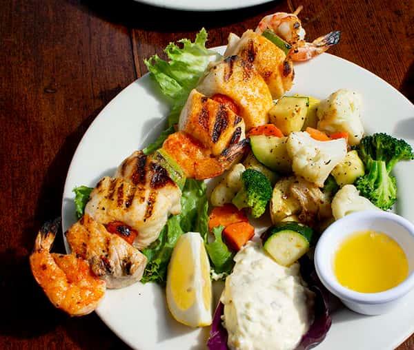 Seafood Brochette