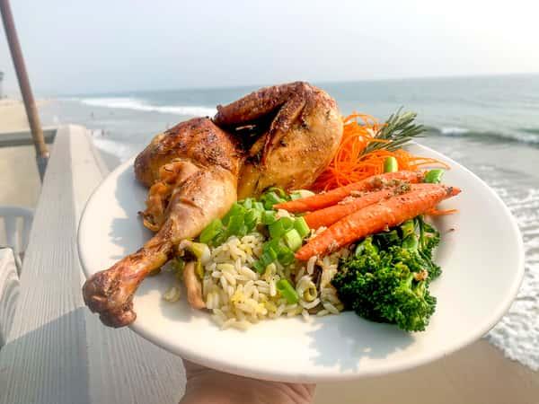 Roasted Sunrise Chicken