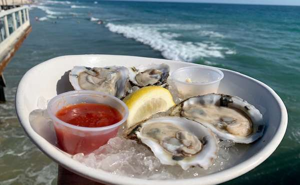 Oysters $1 each