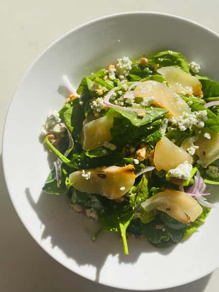 Spinach & Pear