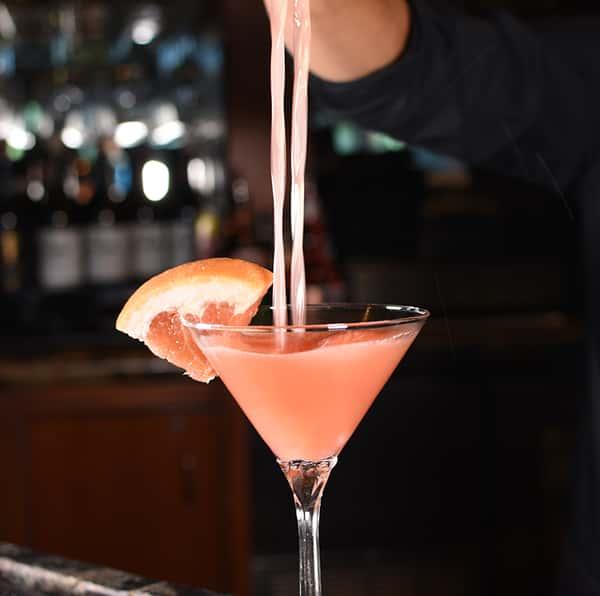 Ruby Red Citrus Martini