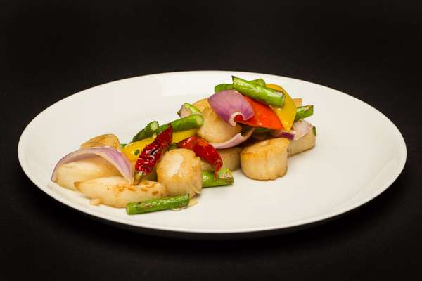 Stir Fried Scallop with XO Sauce