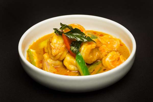 Baron's Shrimp Curry