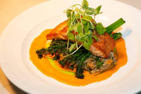 Salmon-scaled