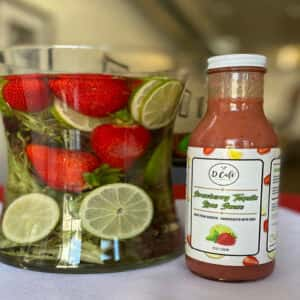 Strawberry Tequila Lime Sauce