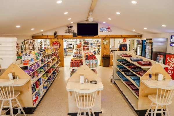 interior of store now