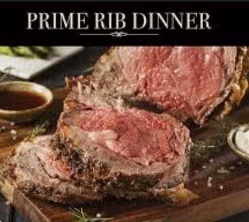 prime rib wednesday