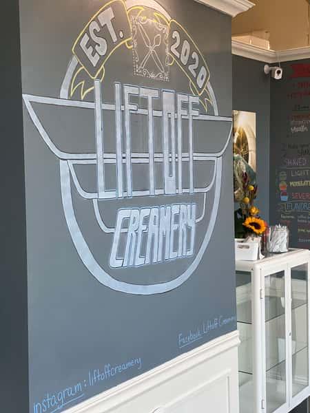 Liftoff Creamery logo