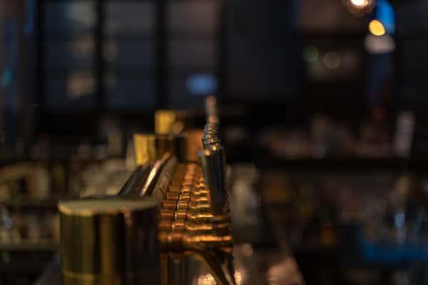 interior beer tap