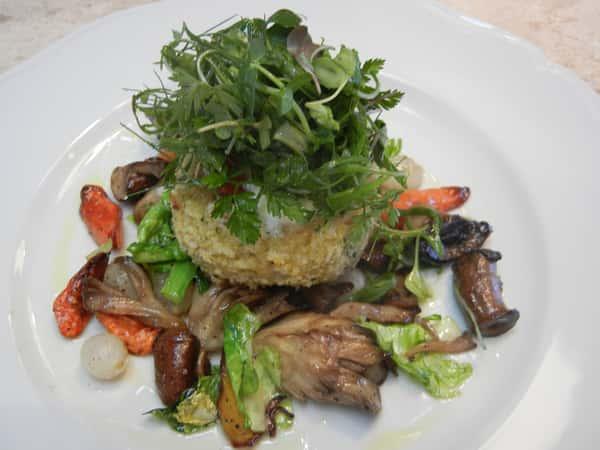 vegetarian wild mushroom