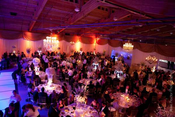 event space with crowd
