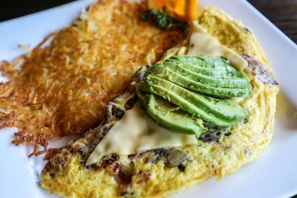 avo omelette