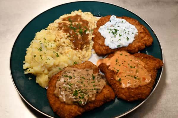 Schnitzel Platter