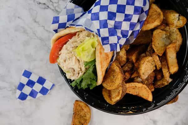 Tuna Salad Wrap Meal