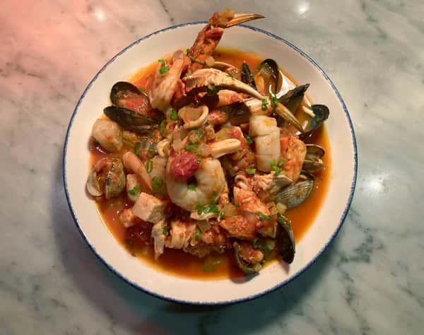 Peruvian Seafood Stew (Serves 2)