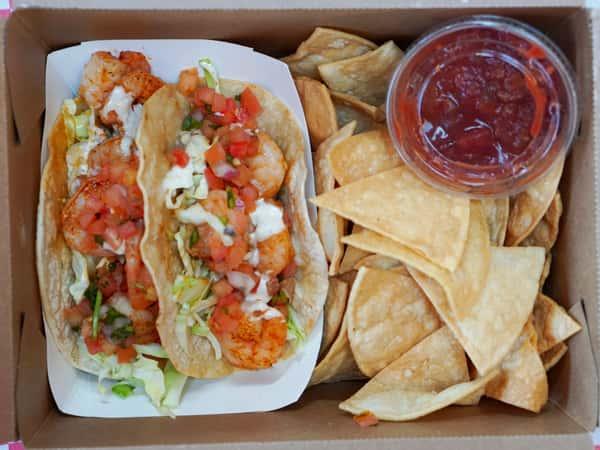 Adobe Shrimp Taco