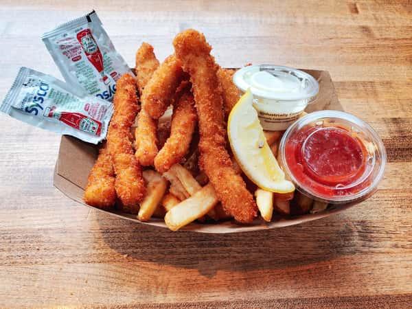 8oz Calamari Steak Crispy F&C