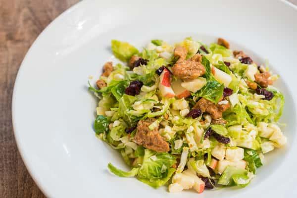 Shaved Brussel Salad