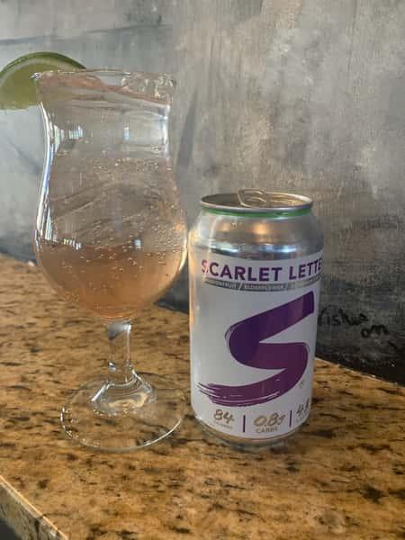 Scarlet Purple cocktail