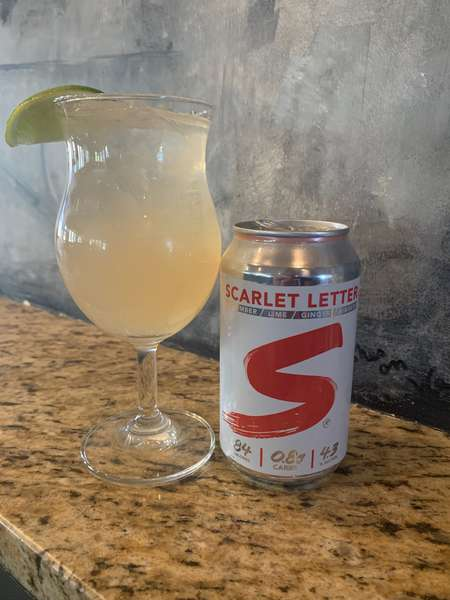 Scarlet Red cocktail