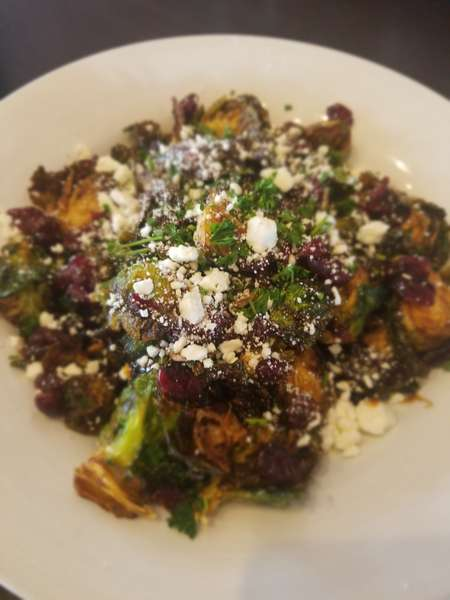 Charred Brussel Sprouts