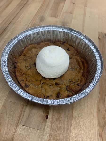 Chocolate Chip Deep Dish Cookie