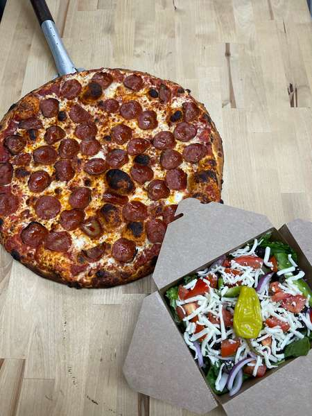 Daily Deal - Pizza & Salad Combo